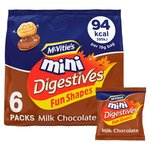McVitie's Mini Chocolate Digestives