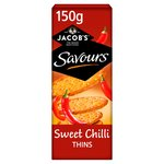 Jacobs Savours Sweet Chilli Thins
