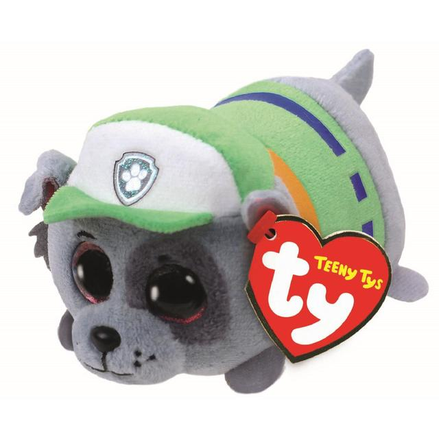 Offer - Ty Rocky Paw Patrol Teeny Ty Beanie 4