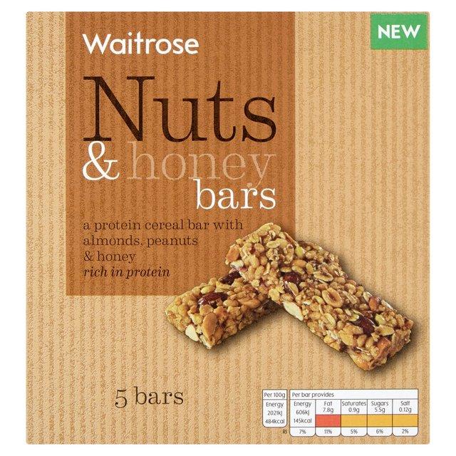 Waitrose nutty cereal bars 5 x 30g from ocado waitrose nutty cereal bars ccuart Gallery