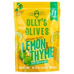 Olly's Olives Lemon & Thyme Green Halkidiki Olives - The Hippie