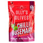 Olly's Olives Chilli & Rosemary Green Halkidiki Olives - The Bandit