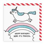 Magical Birthday Greeting Card by Ohh Deer