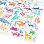 Party Animals Recycled Gift Wrap Sheets by Ohh Deer
