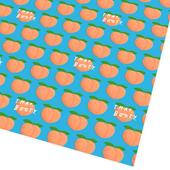 Peachy Recycled Gift Wrap Sheets by Ohh Deer