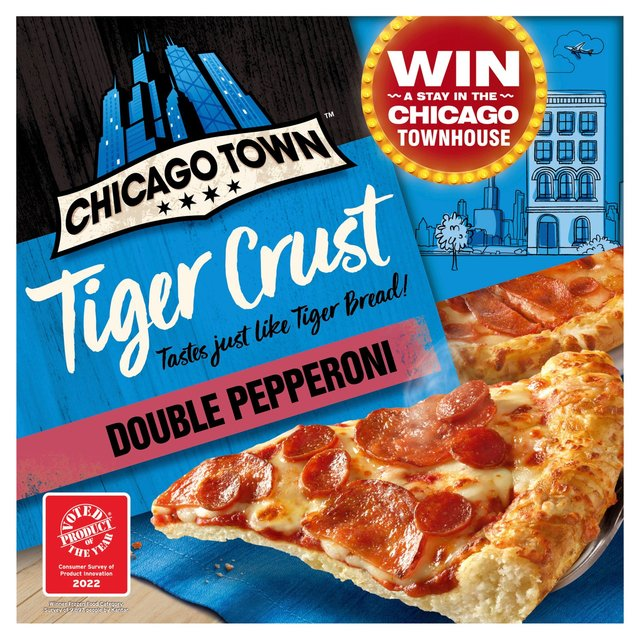 Chicago Town The Pizza Kitchen Deli Pepperoni Pizza 355g