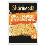 Sharwood's Garlic & Coriander Naans 2 Pack
