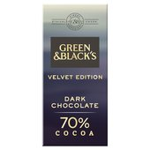 Green & Black's Velvet 70% Dark Chocolate