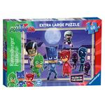 PJ Masks 60pc Glow in the Dark Jigsaw Puzzle, 4yrs+