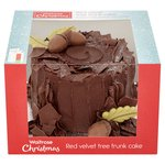Waitrose Red Velvet Yule Stump
