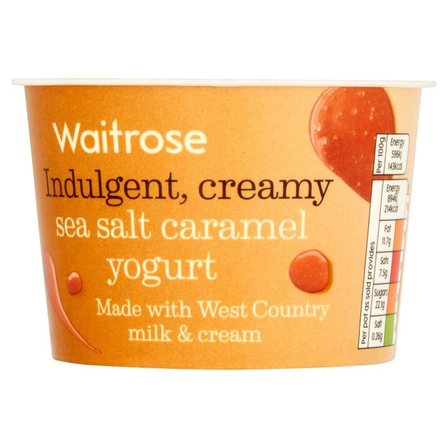 West Country Strawberry Yogurt Waitrose