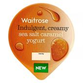 Waitrose Sea Salt Caramel Yogurt