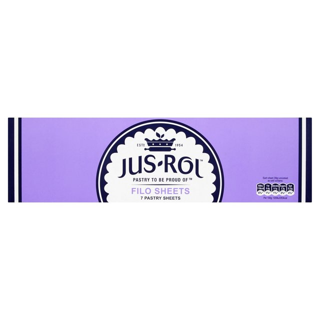 Jus-Rol Frozen Filo Pastry Sheets