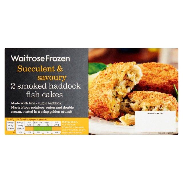 Waitrose Fish Cakes