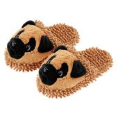 Aroma Home Pug Slippers