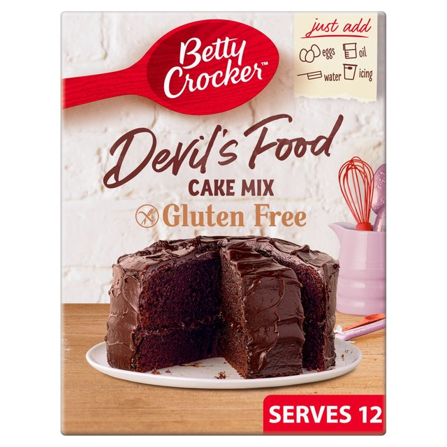 Awe Inspiring Betty Crocker Gluten Free Devils Food Chocolate Cake Mix Ocado Personalised Birthday Cards Vishlily Jamesorg