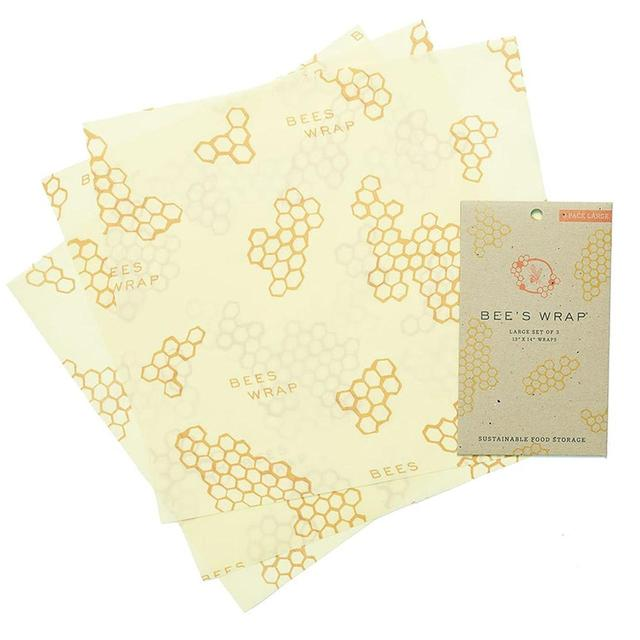 Bee's Wrap Reusable Food Wraps, Large