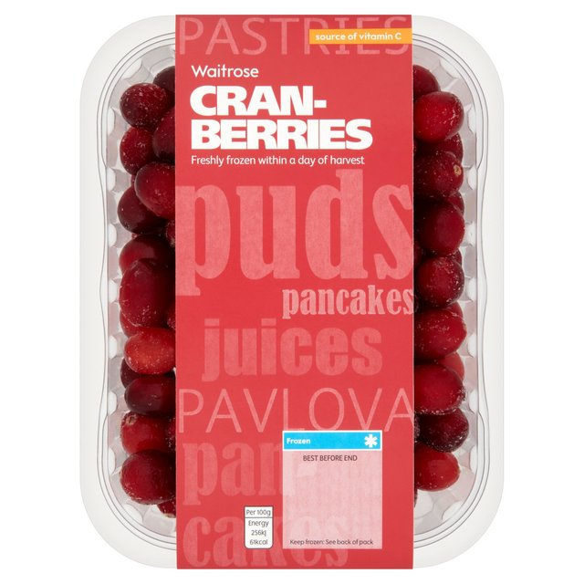 Frozen Cranberries Waitrose