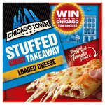 Chicago Town Takeaway Four Cheese Pizza Stuffed Crust Frozen