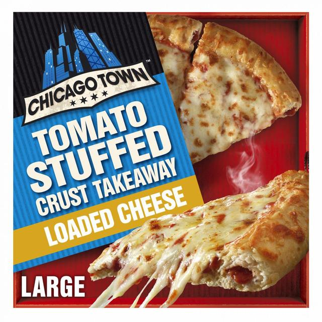 Chicago Town Takeaway Large Stuffed Four Cheese Pizza Ocado