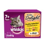 Whiskas 7+ Casserole Cat Pouches Poultry in Jelly