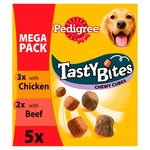 Pedigree Tasty Bites Dog Treats Chewy Cubes Mixed Variety MegaPack