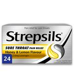 Strepsils Max Honey & Lemon