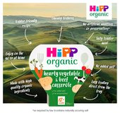 HiPP Organic Growing Up Meals Hearty Vegetables & Beef Casserole