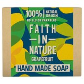 Faith in Nature Grapefruit Pure Hand Made Soap Bar