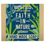 Faith in Nature Rosemary Pure Hand Made Soap Bar