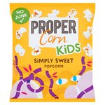 Propercorn for Kids Simply Sweet Popcorn