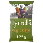 Tyrrells Parsnip, Beetroot & Carrot Veg Crisps with Sea Salt