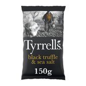 Tyrrells Black Truffle & Sea Salt