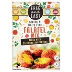 Free & Easy Free From Gluten Dairy & Yeast Free Falafel Mix