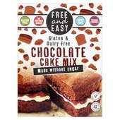 Free & Easy Free From Gluten Dairy Yeast Free Chocolate Cake Mix Sugar Free