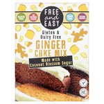 Free & Easy Free From Gluten Dairy Yeast Free Ginger Cake Mix