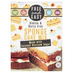 Free & Easy Free From Gluten Dairy Yeast Free Sponge Cake Mix