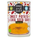Free & Easy Free From Dairy Free Organic Sweet Potato & Chia Seed Soup