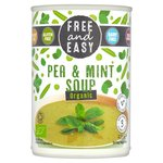 Free & Easy Free From Dairy Free Organic Pea & Mint Soup