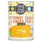 Free & Easy Free From Dairy Free Organic Butternut Squash & Ginger Soup