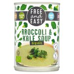 Free & Easy Free From Dairy Free Organic Broccoli & Kale Soup