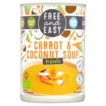 Free & Easy Free From Dairy Free Organic Carrot & Coconut Soup