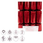 Waitrose Mini Red Christmas Crackers