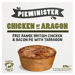 Pieminister Chicken Of Aragon Pie with Smoked Bacon & Tarragon