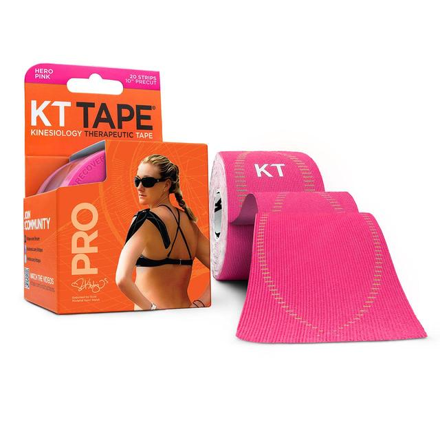 KT Tape Consumer Synthetic Pro Precut Tape 10
