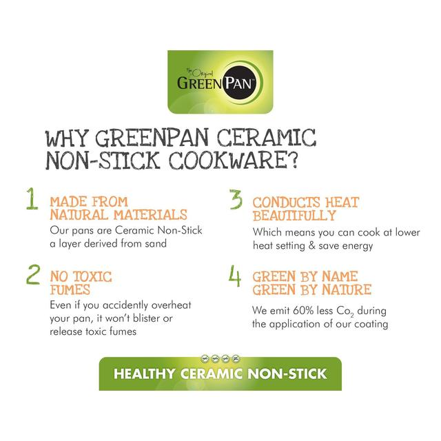 Greenpan Ceramic Frying Pans Ocado