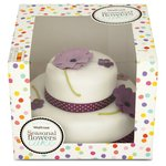 Waitrose 2-Tier Seasonal Flowers Cake 20 Servings