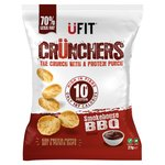 UFIT Crunchers High Protein Popped Chips Smokehouse BBQ