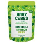 Lickalix Baby Cubes Spinach, Broccoli & Peas