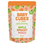 LICKALIX Baby Cubes Apple, Apricot & Peach